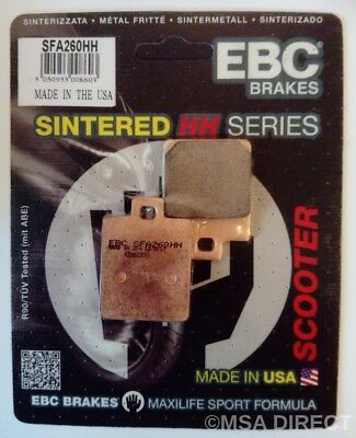 Peugeot Tweet 125 (2010 to 2015) EBC Sintered REAR Brake Pads (SFA260HH) (1 Set)