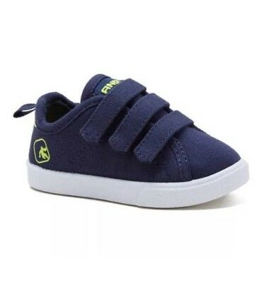 And1   Toddler Boys Canvas Triple Strap Shoe Gray New Size 3