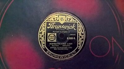 """10"""" 78Rpm - Jimmie Lunceford - Sophisticated Lady (Brunswick 02686) E"""
