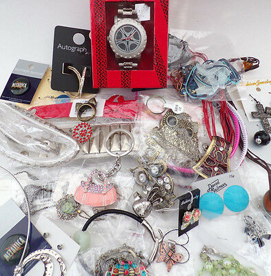 New With Tags Jewellery Job Lot Necklaces Over 30 Items Resale