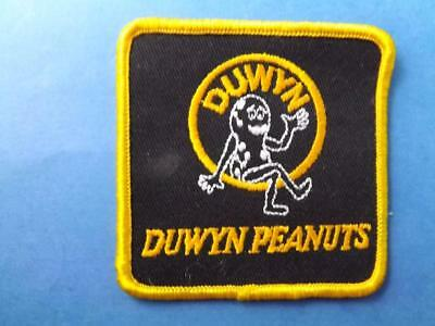 Duwyn Peanuts Company Patch Employee Uniform Vintage Farm Peanut Logo Collector