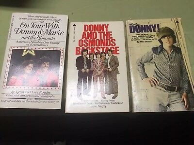 Osmond Brothers Autographed Pictures