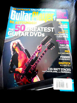 Vintage Guitar Player Magazine - 50 GREATEST GUITAR DVD'S - February 2008