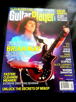 Vintage Guitar Player Magazine - BRIAN MAY - January 2008