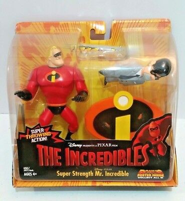 2003 The Incredible - Super Strength Mr. Incredible & Mr. Humph Action Figures