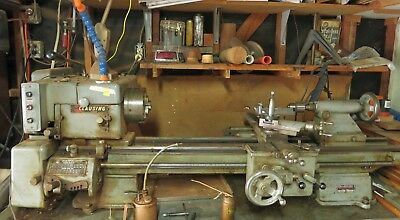CLAUSING METAL WORKING lathe Model 5310