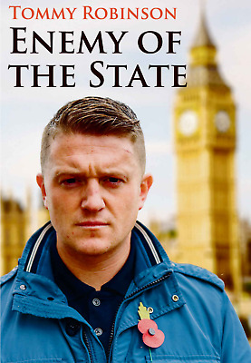BOOK Tommy Robinson Enemy of the State  Anti-jihad British Politics Paperback