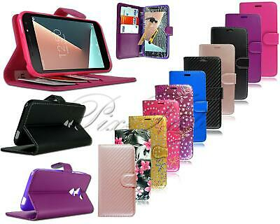 For Vodafone Smart N8 VFD 610 New Genuine PU Leather Wallet Phone Case + T Glass