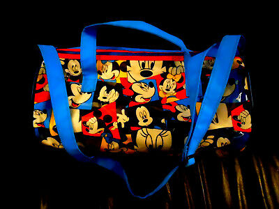 MICKEY MOUSE Tote Duffle Bag (13.5 x 8 INCHES)