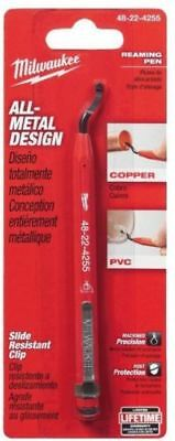 Milwaukee Pipe Reaming Pen, Quickly Deburr Copper and PVC Pipe