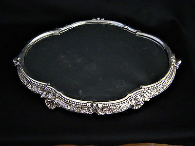 Sterling Silver Mirrored Plateau
