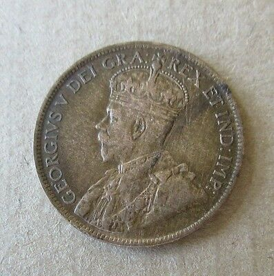 1919 Canadian One Cent Copper Coin