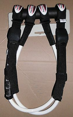 Windsurfing Nautix Adjustable Harness lines with strap 26 to 32 Brand NEW