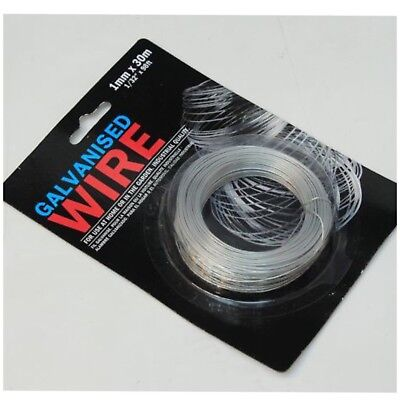 Industrial Quality Galvanised Wire Home And Garden Use 1Mm X 30M