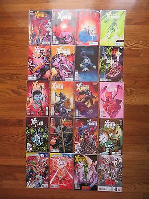 All-New X-MEN 1-19+ Complete Series-Run Movies Marvel Lot of 20 books NM