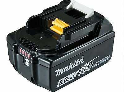 Makita 5.0A 18v Li-ion battery BL1850B for Genuine Makita Lxt drill saw drivers