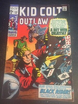 Kid Colt Outlaw#143 Awesome Condition 6.0(1969) Wow!!