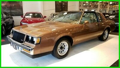"""1987 Buick Regal Grand National Turbo 1-owner, Nor California """"T"""" Pkg Turbo.  100% Stock & Unaltered. Fully Documented"""