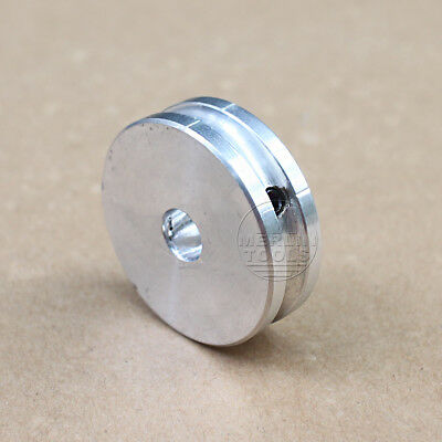 30mm Diameter - 3 to 15mm Bore - V-Groove Flat Pulley - Select Size
