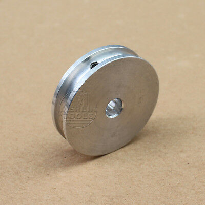 40mm Diameter - 6 to 20mm Bore - V-Groove Flat Pulley - Select Size