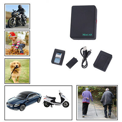 Mini Global Locator Real Time Car Kid Pet Tracker GSM/GPRS/GPS Tracking DeviceEV