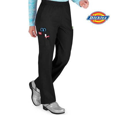 86106 Dickies Women's Hospital Cargo Scrubs Pant Nurse Doctor Medical Uniform