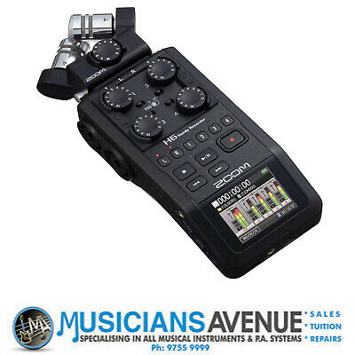 ZOOM H6 Handy Field Recorder - FREE SHIPPING!