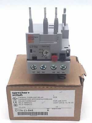 Sprecher+Schuh CT7N-23-B48 Thermal Overload Relay SER A 3.5 - 4.8A