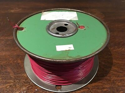 Wire TM-27 #22 AWG Cu 597m/1959'+ Philips Cables Solid Red