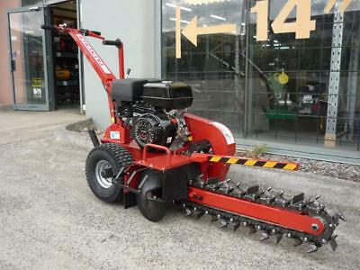"""TRENCHER TRENCH DITCH DIGGER WITCH!! ELECTRICAL CABLE 600mm Depth 24"""" 15hp"""