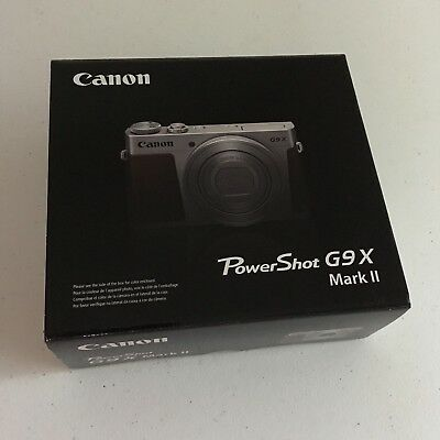 Canon PowerShot G9 X Mark II 20.1MP Digital Camera BLACK