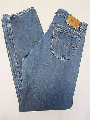 Levis 501xx Vintage 35x34 Label (32x30.5 Actual) Blue Jeans Button Fly USA Made