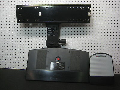 3M KP200LE Adjustable Keyboard Tray System Under Desk Pull Out Mounting Hardware