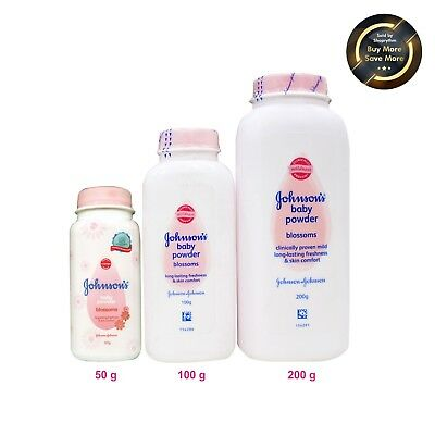 Johnson's Baby Powder  Blossoms Travel Pack Handy Good Smell 50g,100g & 200g