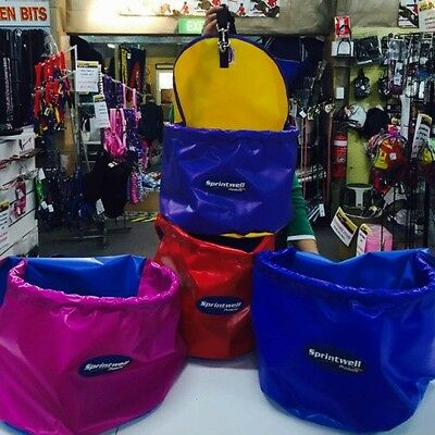 Horse/Pony Tough Vinyl Denier Feed Bag~Mix n Match Colours~Embroidery Available