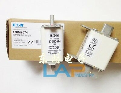 1PC NEW Bussmann 170M2674 Fuse 25A 1000V