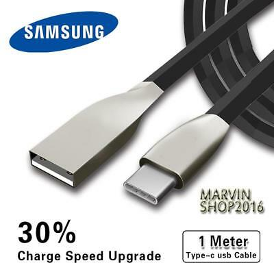 BLACK TYPE C 3.1 USB ALLOY CABLE DATA SYNC CHARGING FOR Samsung Galaxy Phones