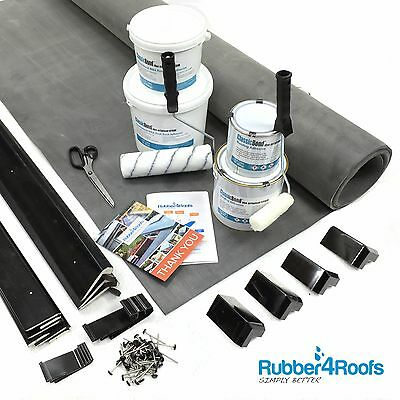 Rubber Roof Kit For Garden Rooms, All sizes, 50 Year Life, ClassicBond EPDM
