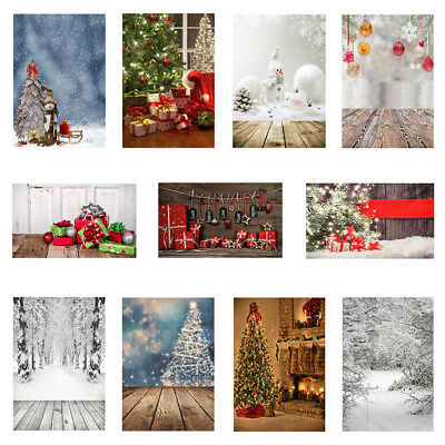 30 Types Christmas Theme Photography Backdrop Photo Background Studio Props