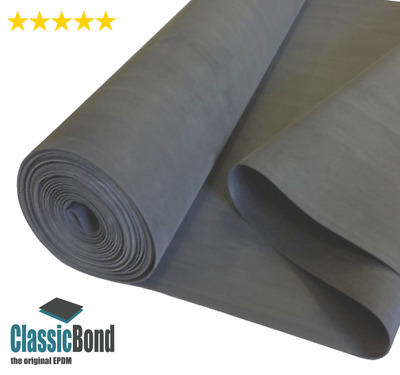 Rubber Roofing Membrane For Flat Roofs , 1.2mm ClassicBond EPDM Roof Sheet,