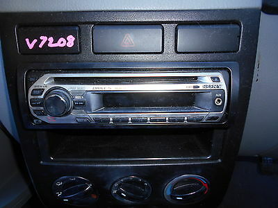SONY A/M CD PLAYER To Suit 6/04 KIA RIO S/N V7208 BL6663