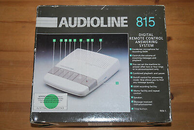 Audioline 815 Digital Remote Control Answering System