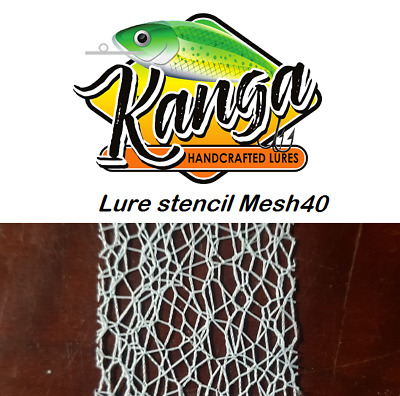 Fishing Lure Stencils, Lure Mesh,stencil wire mesh, lure parts, lure blanks 40mm