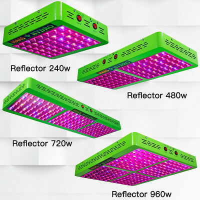 Mars Hydro Reflector LED grow Lights Lamp Hydroponics Indoor Medical Veg Flower