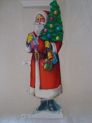 Victorian Style Scrap Large Father Christmas