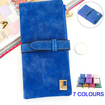 Women Wallet Long Purse Phone Card Holder Clutch Large Capacity Pocket