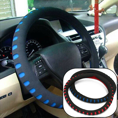 Universal Car Steering Wheel Cover/Glove  EVA Foam Soft Auto Anti-slip 38cm UK