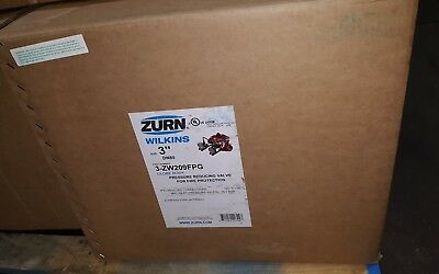 "ZURN Wilkins ZW209FPG 3"" Grooved Pressure Reducing Valve Fire Protect 3-ZW209FPG"