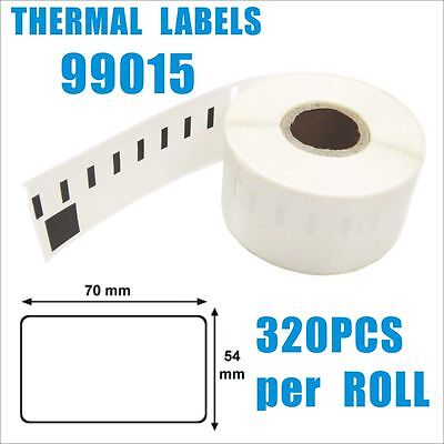 Compatible for Dymo / Seiko 99015 Label 54mm x 70mm 320pcs/ roll
