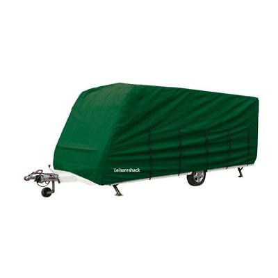 Breathable Caravan Cover 23 To 25 Foot Green, Universal For Lunar 225 cm Wide